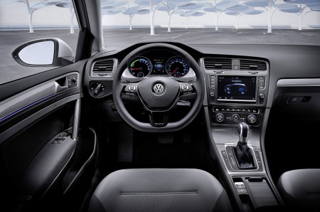 VW e-Golf Cockpit, Foto: VW
