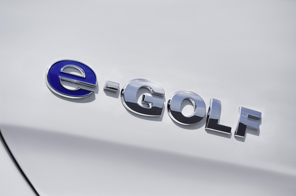 e-Golf badge, Foto: VW