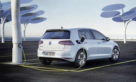 Ladevisionen für den neuen Volkswagen e-Golf, Foto: VW