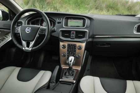 Volvo V40 Cross Country mit Highclass-Innenraum, Foto: Volvo