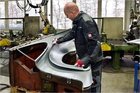 Keine Nachschubprobleme (mehr) - neue Bleche für alte 911er - Foto: Porsche