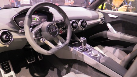 Audi TT offroad concept virtual cockpit, Foto: Autogefühl