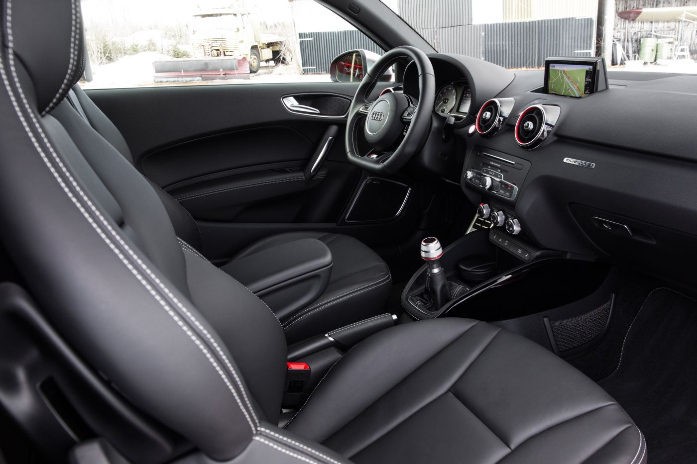 audi s1 test erster fahrbericht autogef hl. Black Bedroom Furniture Sets. Home Design Ideas