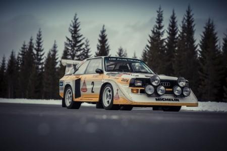 Der historische Audi S1 von 1985, Foto: Audi