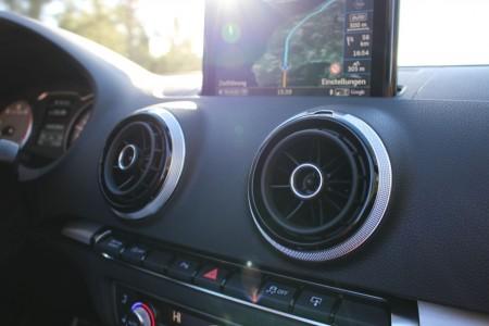 Audi S3 Cabriolet Lüftungsdüsen, Foto: Autogefühl