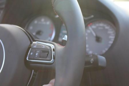 Audi S3 Cabriolet Instrumente, Foto: Autogefühl