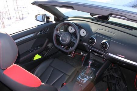 Audi S3 Cabriolet Innenraum, Foto: Autogefühl