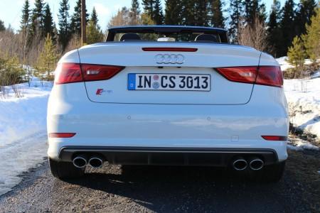 Audi S3 Cabrio Heck, Foto: Autogefühl