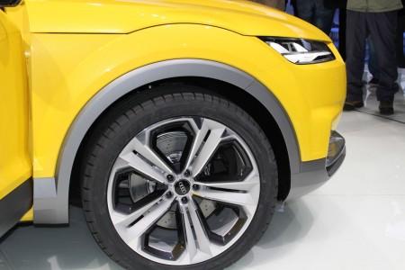 Audi TT offroad concept in Peking, Foto: Autogeüfhl