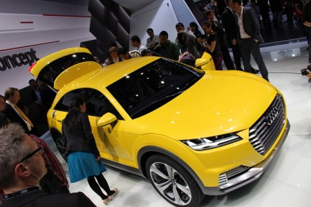 Audi TT offroad concept, Foto: Autogefühl