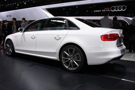 Audi A4 L auf der Auto China 2014, Foto: Autogefühl