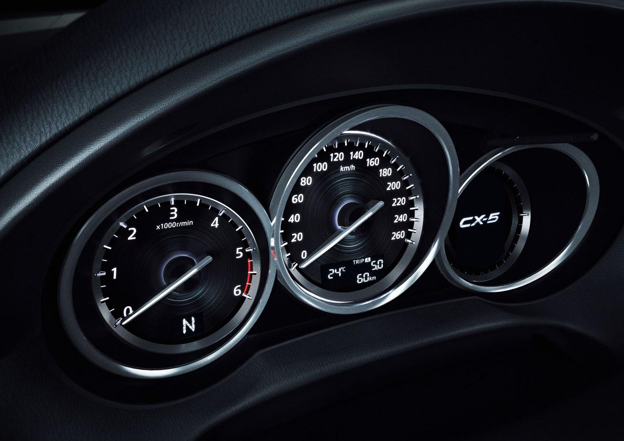 Mazda CX-5 Instrumente, Foto: Mazda