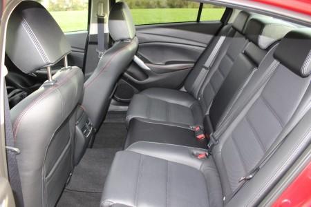 Mazda6 Limousine Fond, Foto: Autogefühl