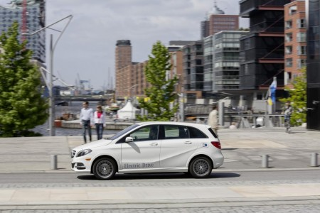 Mercedes B-Klasse Electric Drive, Foto: Mercedes