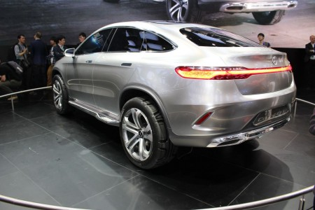 Mercedes Coupé SUV Concept in Peking, Foto: Autogefühl
