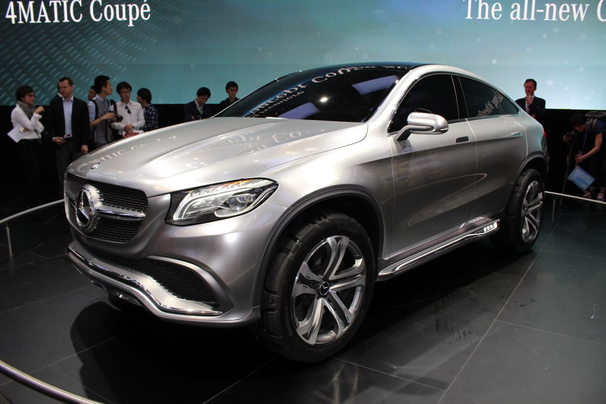 Mercedes benz concept coupe suv pret for Mercedes benz concept coupe suv
