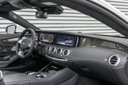 Mercedes S 63 AMG Coupé Cockpit, Foto: Mercedes