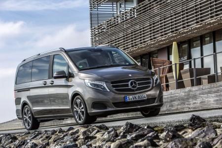 Die neue Mercedes V-Klasse, V 250 BlueTEC, Exterieur, indiumgrau metallic