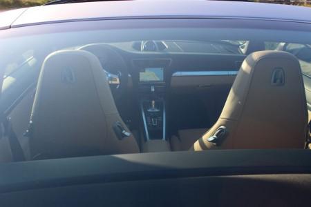 Porsche 911 Targa 4S Blick durch die Glaskuppel, Foto: Autogefühl