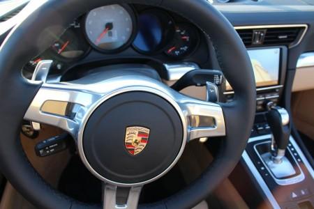 Porsche 911 Targa 4S Cockpit, Foto: Autogefühl