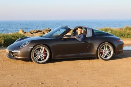 Autogefühl mit dem neuen Porsche 911 Targa 4S, Foto: Ralf Henningsen