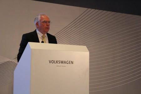 Audi-Technikvorstand Ulrich Hackenberg in Peking, Foto: Autogefühl
