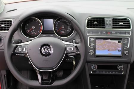 VW Polo 2014 Cockpit, Foto: Autogefühl