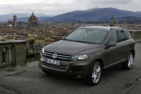 VW Touareg V6 TDI BlueMotion Technology mit 176 kW 240 PS, Foto: VW