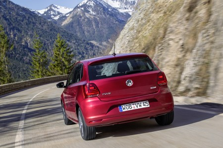 VW Polo Facelift in Sunset Red, Foto: VW