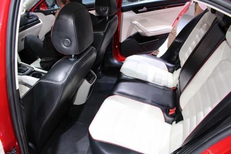 Volkswagen NMC Concept Interieur auf der Auto China 2014, Foto: Autogefühl