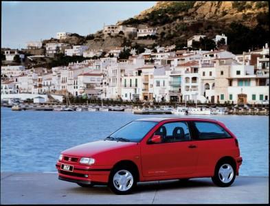 Seat Ibiza II - nochmal Design by Giugiaro, nur diesmal weniger eckig - Foto: Seat