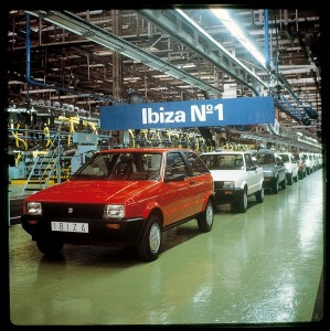 1984: Ibiza Numero 1 rollt vom Band in Barcelona - Foto: Seat
