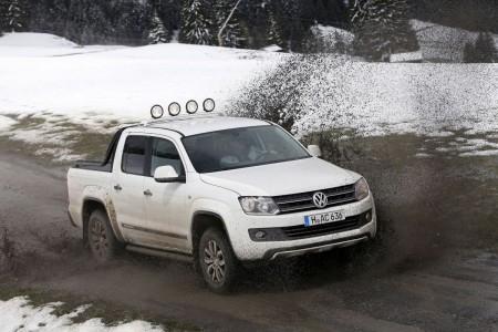 VW Amarok Canyon 4MOTION (Allrad), Foto: VW