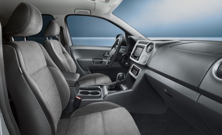 Amarok Sondermodell Dark Label Interieur, Foto: VW