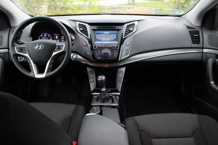 Hyundai i40 Kombi Cockpit, Foto: Autogefühl
