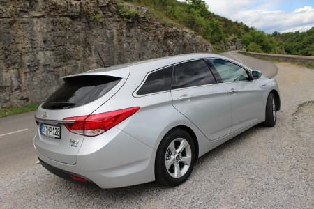 Hyundai i40 Kombi Heck, Foto: Autogefühl