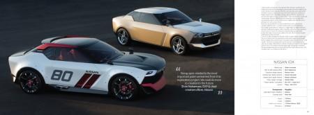 Die beiden im Retro-Style geformten Studien IDx Freeflow (hinten) und IDx Nismo (vorn) siegten etwas überraschend in der Wertung für Concept Cars - Foto: Car Design News
