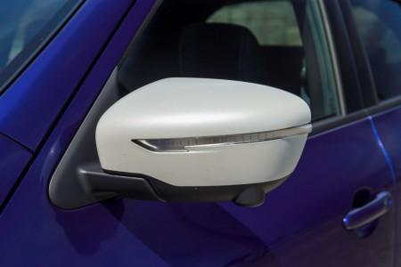 Nissan Juke, Facelift 2014, kontrastierende Außenspiegel, Foto: Nissan