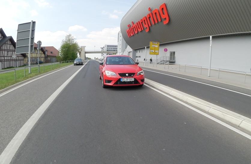 Seat Leon Cupra am Nürburgring, Foto: Autogefühl