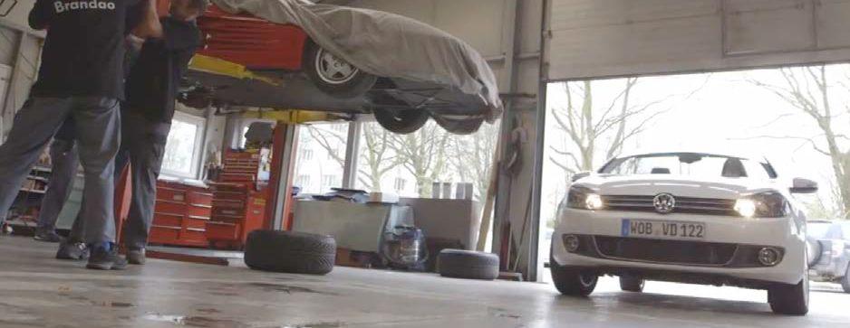 Die Werkstatt für das Fan-Auto 2014, Foto: VW