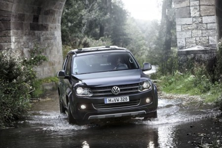 VW Amarok Doppelkabine offroad, Foto: VW