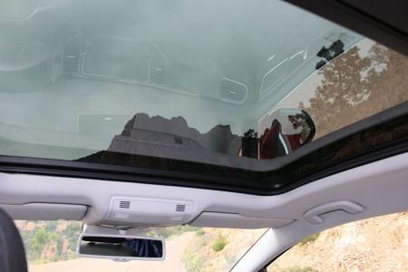 VW Golf Sportsvan Panorama-Glasdach, Foto: Autogefühl