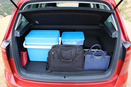 VW Golf Sportsvan Kofferraum, Foto: Autogefühl