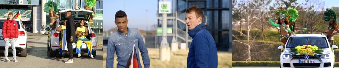 Volkswagen CUP Sondermodelle Werbung, Foto: VW