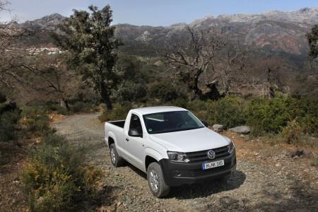 Volkswagen Amarok SingleCab - das Arbeitstier, Foto: VW
