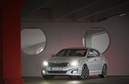 Kia Optima Facelift, Foto: Kia