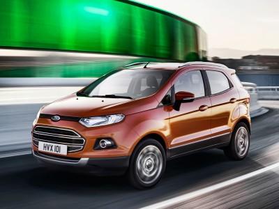 EcoSport - der kompakte SUV aus Brasilien feiert gerade Deutschland-Premiere - Foto: Ford
