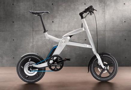 Leider nicht weiterentwickelt: Bei der Olympiade in London setzte BMW dieses zusammenklappbare....