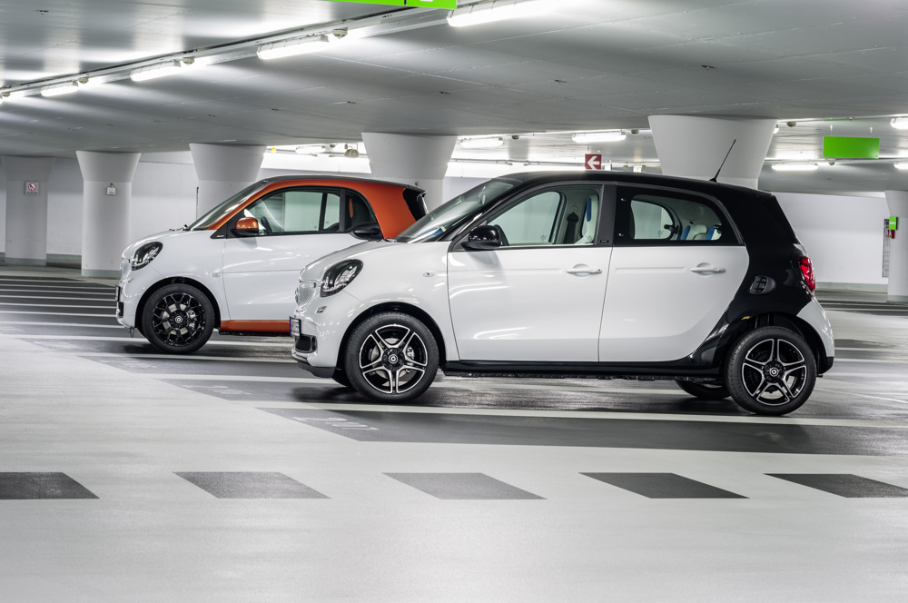 smart fortwo, BR C453, 2014 / smart forfour, BR W453, 2014