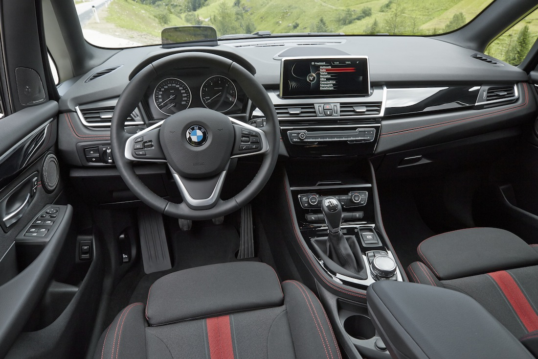 Bmw 2er active tourer fahrbericht chance mit for H e m interno